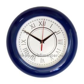 Часы круглые под полиграфическую вставку
