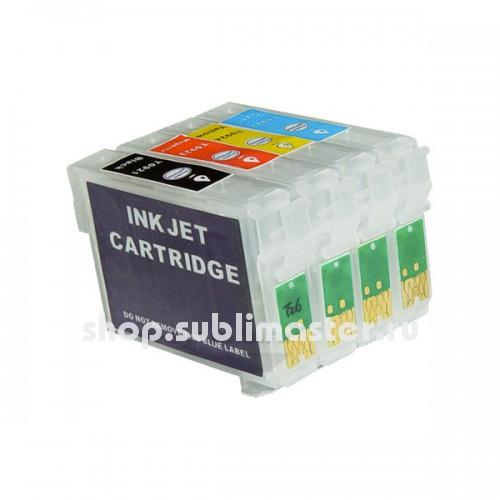 ПЗК для принтеров Epson Stylus C91/Т26/T27/CX4300/TX106/TX109/TX117/TX119