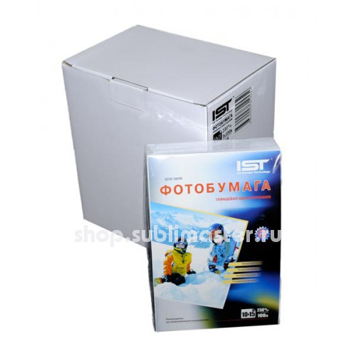 Фотобумага IST глянцевая односторонняя 230 гр, 4R (10х15) 500 листов
