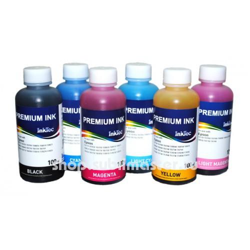 Набор чернил InkTec  E0010 6 цветов по 100 мл
