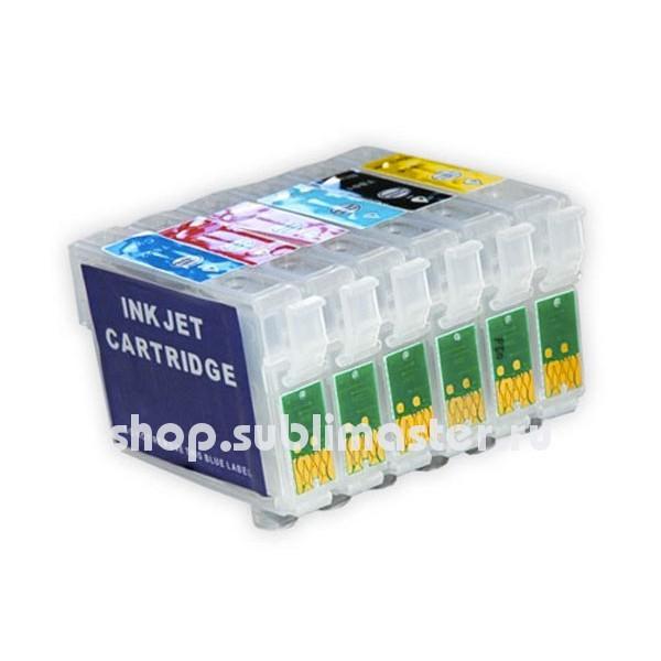 ПЗК для принтеров Epson Stylus Photo P50/PX650/PX659/PX660/PX720WD/PX820FWD