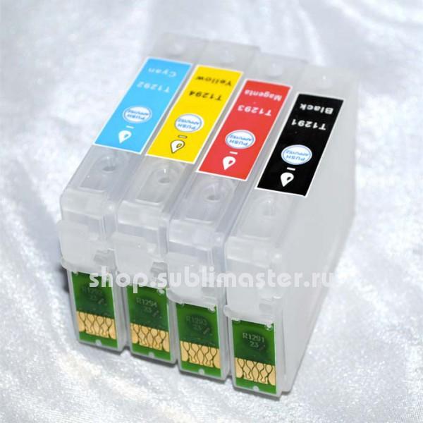 ПЗК для принтеров Epson Stylus SX525WD/SX535WD/SX620FW/B42WD/BX525WD/BX535WD/BX625FWD/BX635FWD/BX925FWD/BX935WD/WF7015/WF7515/WF7525