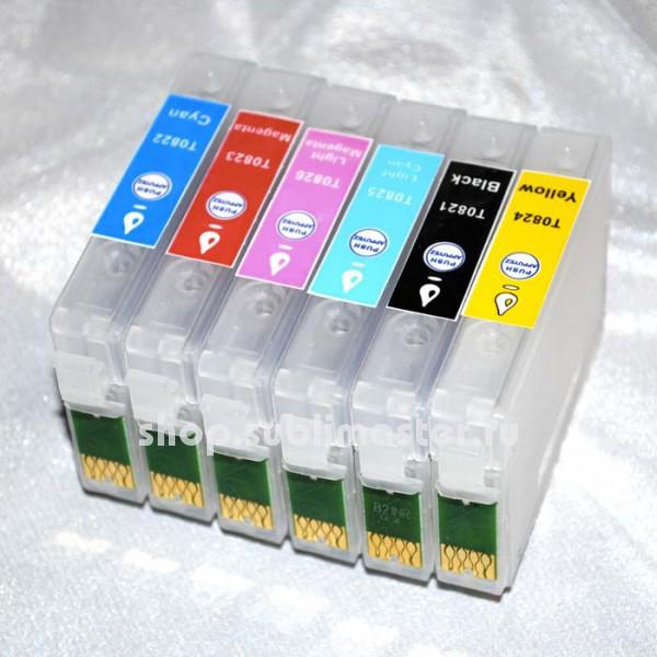 ПЗК для принтеров Epson Stylus Photo R270/R290/R295/R390/RX590/RX610/RX615/RX690/ Т50/Т59/1410/TX700/TX710/TX800/TX810