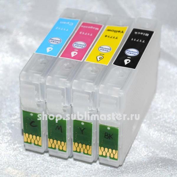 ПЗК для принтеров Epson XP33/XP103/XP203/XP207/XP303/XP306/XP403/XP406