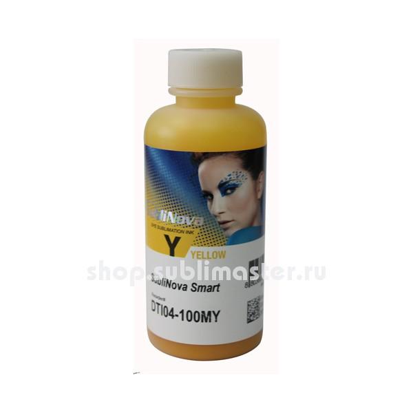 Сублимационные чернила InkTec DTI04-100MY Yellow 100мл SubliNova Smart
